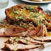 BBQ Lamb With Harissa Dressing