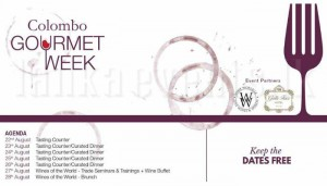 Colombo Gourmet Week - Aug 2016 @ Gall Face Hotel Colombo