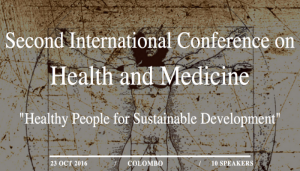 International Conference in Health and Medicine - Oct 2016 @ Gall Face Hotel Colombo | Colombo | Western Province | Sri Lanka